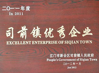 2011-司前镇企业